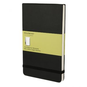 Moleskine Classic Large Reporter Notebook