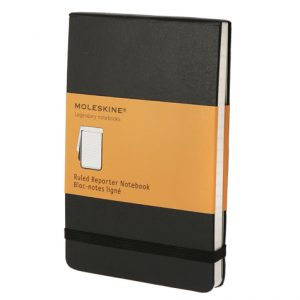 Moleskine Classic Pocket Reporter Notebook Ruled